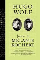 Letters to Melanie Köchert