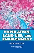 Population, land use, and environment : research directions