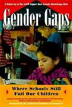 Gender gaps : where schools still fail our children