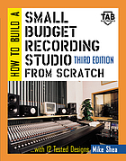 How to build a small budget recording studio from scratch--with 12 tested designs