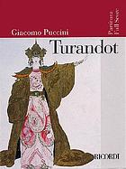 Turandot : lyric drama in three acts & five scenes