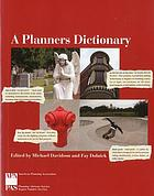 A planners dictionary