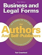 Business & legal forms for authors & self-publishers