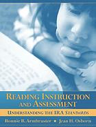 Reading instruction and assessment : understanding the IRA standards