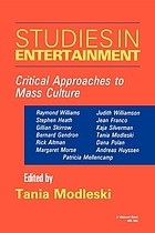 Studies in entertainment : critical approaches to mass culture