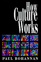 How culture works