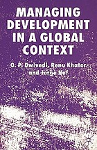 Managing development in a global context