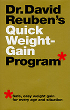 Dr. David Reuben's Quick weight-gain program