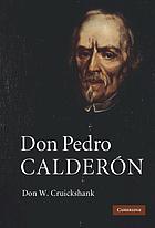 Don Pedro Calderón