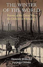 The winter of the world : poems of the First World war