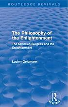 Philosophy of the enlightenment (routledge revivals) : the christian
