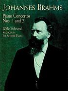 Concerto, D minor, for pianoforte and orchestra, op. 15