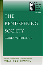 The rent-seeking society