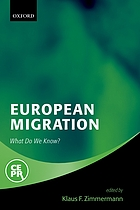 European migration : what do we know