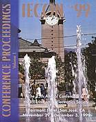 IECON '99 : proceedings, the 25th Annual Conference of the IEEE Industrial Electronics Society, November 29 - December 3, 1999, Fairmont Hotel, San Jose, California, USA
