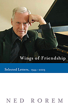 Wings of friendship : selected letters, 1944-2003