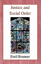Justice and the social order
