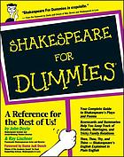 Shakespeare for dummiesShakespeare for dummies (For Dummies S.)
