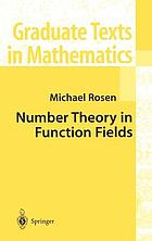 Number theory in function fields