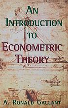 An introduction to econometric theory : measure-theoretic probability and statistics with applications to economics