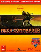 MechCommander : Prima's official strategy guide