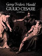 Giulio Cesare : in full score