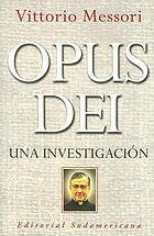 Opus Dei : un'indagine