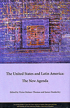 The United States and Latin America : the new agenda