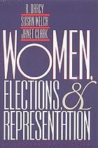 Women, elections & representation