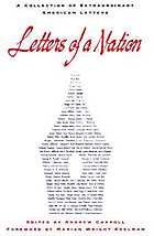 Letters of a nation : a collection of extraordinary American letters