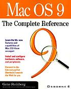 Mac OS 9 : the complete reference