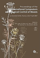 Proceedings of the XII International Symposium on Biological Control of Weeds : La Grande Motte, France, 22-27 April 2007