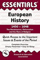 The Essentials of European history