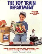 The toy train department