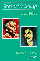 Lyrical ballads, 1798