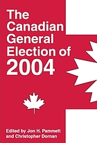 The Canadian general election of 2004