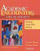 Academic encounters, life in society, level 3 : reading and writing