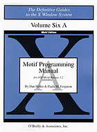 Motif programming manual for OSF/Motif Release 1.2
