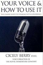 Your voice and how to use it successfully