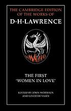 The first ¿7FWomen in love""