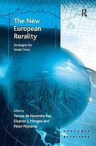 The new European rurality : strategies for small firms