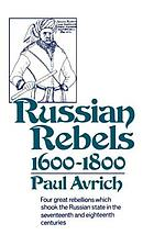 Russian rebels, 1600-1800
