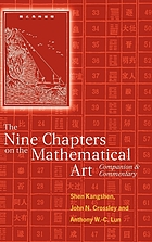 The nine chapters on the mathematical art : companion and commentary