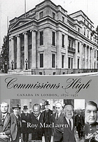 Commissions high Canada in London, 1870-1971