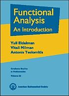 Functional analysis : an introduction