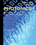 Photonics : optical electronics in modern communications