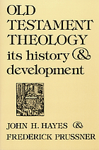 Old Testament theology : its history and development