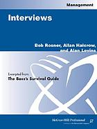 InterviewsSourcing and assessing candidatesBoss's Survival Guide : Sourcing and Assessing Candidates
