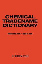 Chemical tradename dictionary
