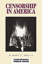 Censorship in America : a reference handbook